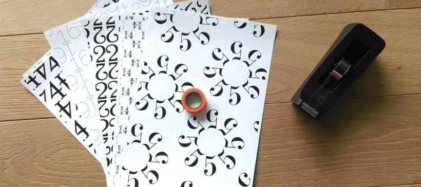 Das brauchst du für den Typografie-Adventskalender