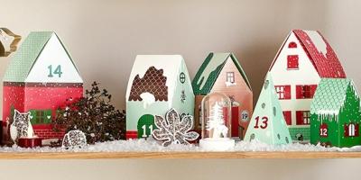 Adventskalender-Weihnachtsdorf von Tchibo